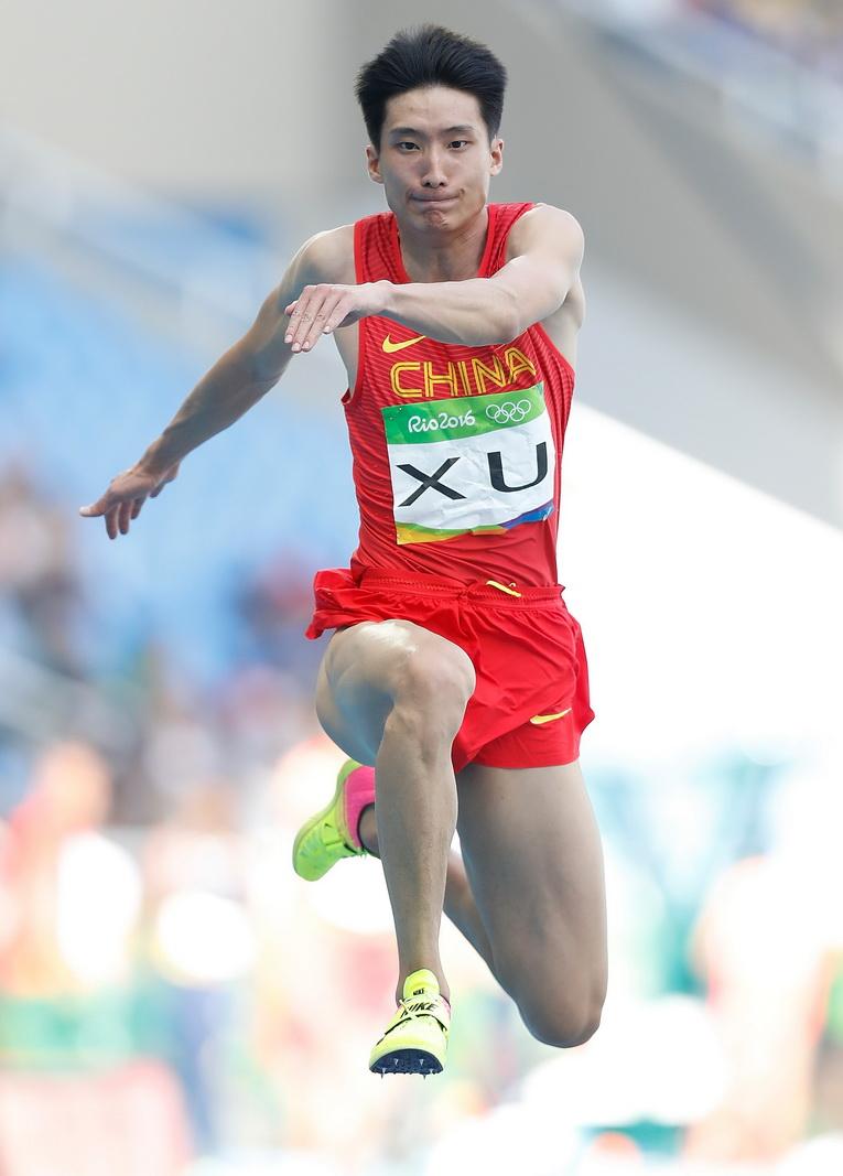 中国选手徐晓龙在资格赛中