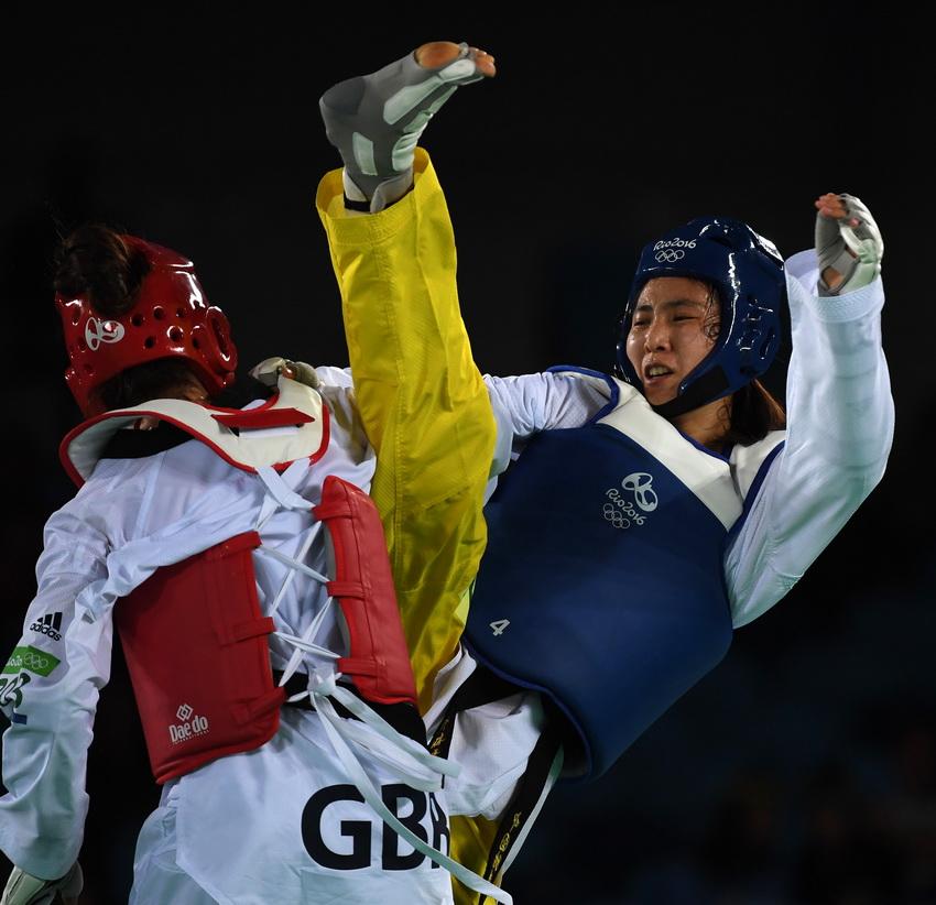 中国跆拳道队回国中国跆拳道队回国