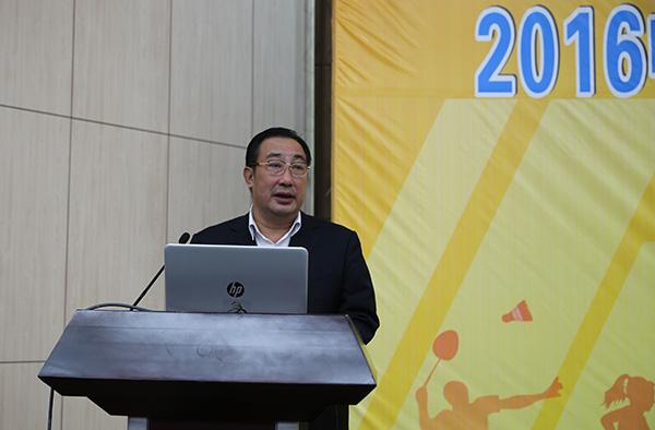 国家体育总局体育文化发展中心主任梁晓龙出席论坛并致辞
