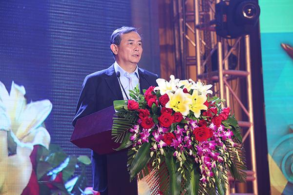 国家体育总局体育文化发展中心副主任曹康发表讲话