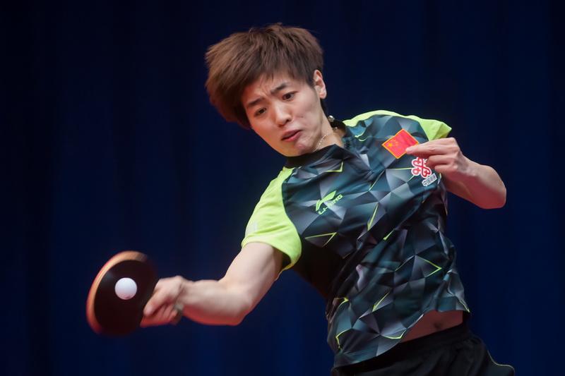 1月19日,中国选手车晓曦在女单首轮比赛中以4比1战胜俄罗斯选手米克哈洛娃,顺利晋级
