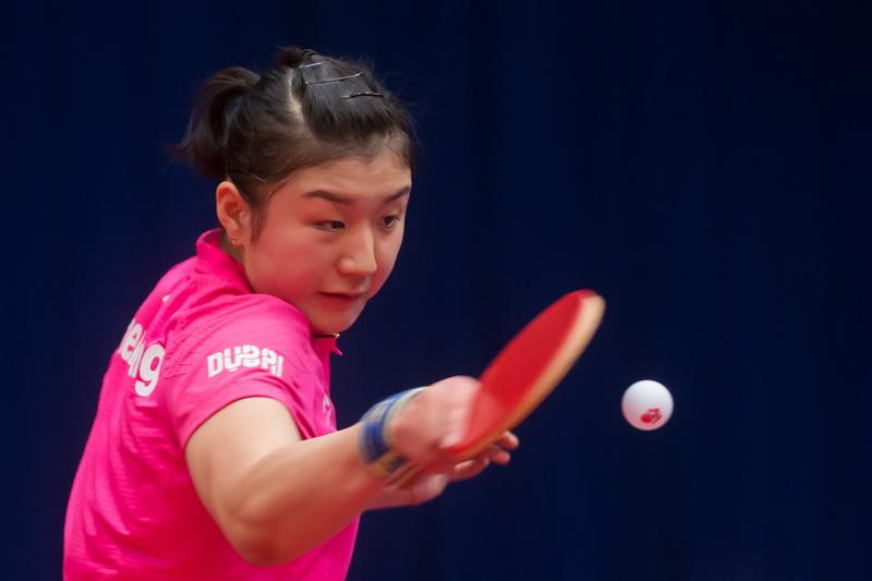 1月20日,在匈牙利首都布达佩斯举行的2017国际乒联世界巡回赛匈牙利公开赛女单八分之一决赛中,中国选手陈梦以4比1战胜白俄罗斯选手帕夫洛维奇。