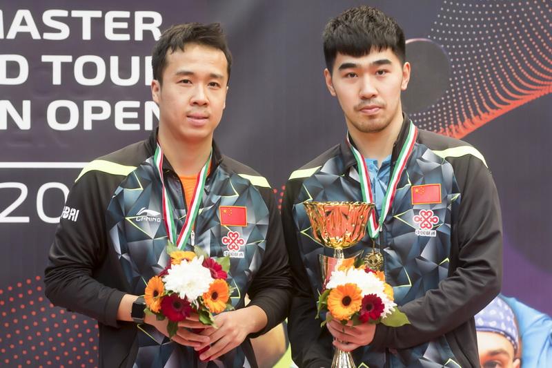 1月22日,在匈牙利首都布达佩斯举行的2017国际乒联世界巡回赛匈牙利公开赛男子单打决赛中,中国选手闫安以4比2战胜队友尚坤,获得冠军。