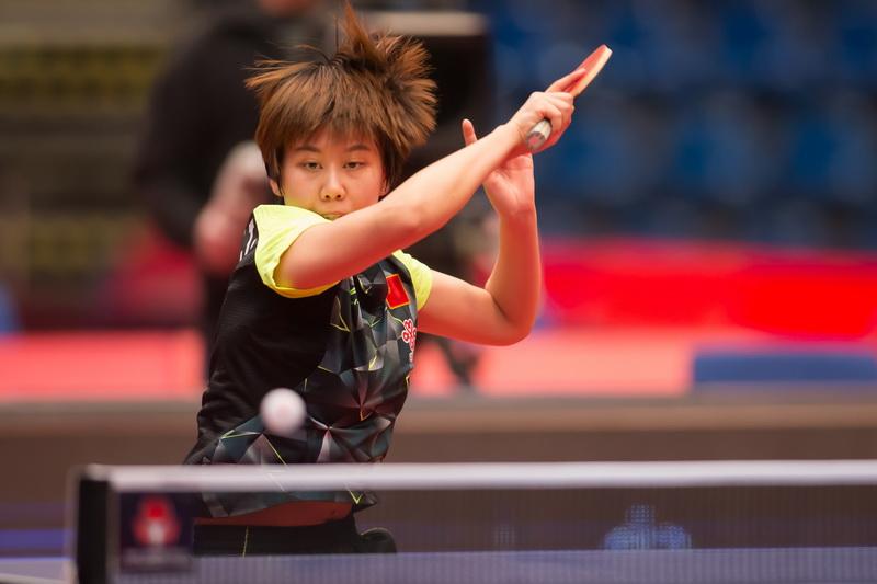 1月22日,在匈牙利首都布达佩斯举行的2017国际乒联世界巡回赛匈牙利公开赛女子单打决赛中,中国选手陈幸同以4比1战胜队友文佳,获得冠军