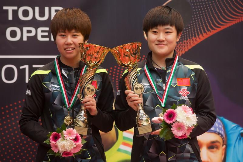 1月22日,在匈牙利首都布达佩斯举行的2017国际乒联世界巡回赛匈牙利公开赛女子双打决赛中,中国组合陈幸同/李佳燚以3比1战胜匈牙利选手盖欧基那与瑞典选手埃克霍尔姆的跨国组合,获得冠军。