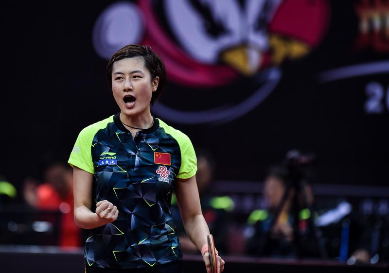 世乒赛选拔赛第三阶段:丁宁获得直通资格