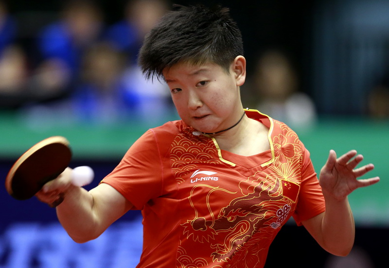 日本公开赛:孙颖莎获女单冠军