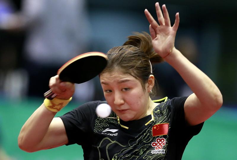日本公开赛:陈梦获女单亚军