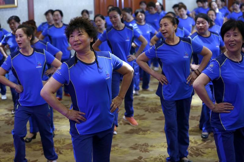 6月27日,全国社会体育指导员健身技能培训(西安站)举行开班仪式。
