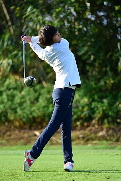 全国青少年高尔夫球公开赛落幕 蔡丹琳领跑夺冠