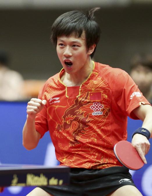 林高远以4比0战胜韩国选手丁祥恩,晋级决赛