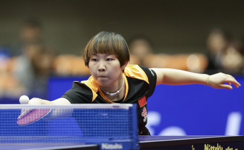 朱雨玲以4比1战胜中国台北选手郑怡静,晋级决赛