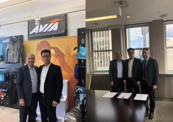 行业震动,国际品牌AVIA强势进驻中国 佰盈联手