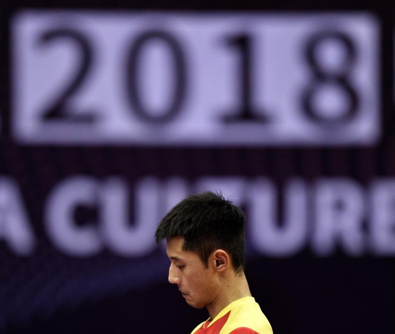 中国公开赛:张继科晋级正赛
