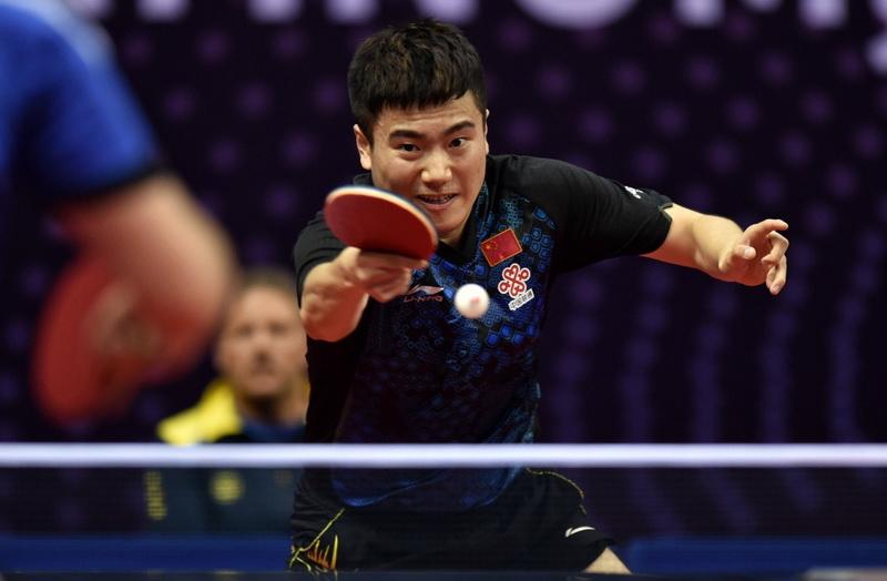中国公开赛:梁靖崑晋级正赛