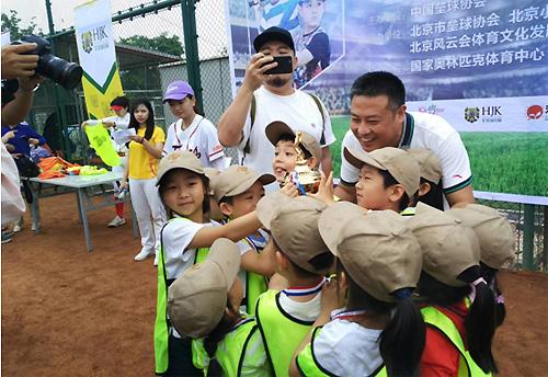 2018世界小鸟日暨意思软式棒垒球邀请赛举行高尔夫球的垒球和幼儿是什么老鹰图片