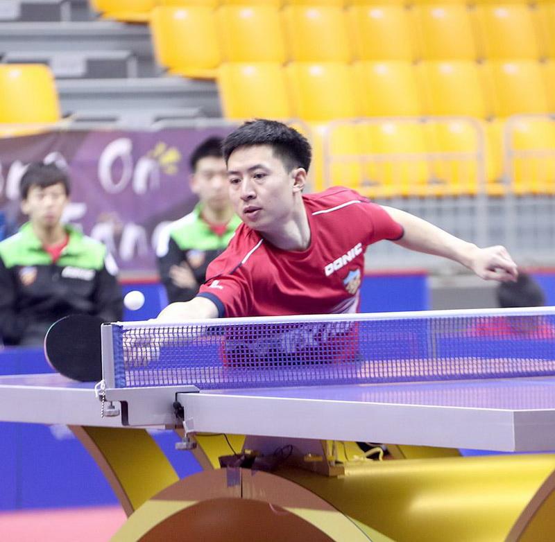 天津乒乓球俱乐部3-2战胜江苏中超电缆巫山木兰太极拳协会图片