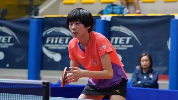 国乒15岁小将陈熠获波兰赛亚军,有哪些值得点赞与要努力的方向