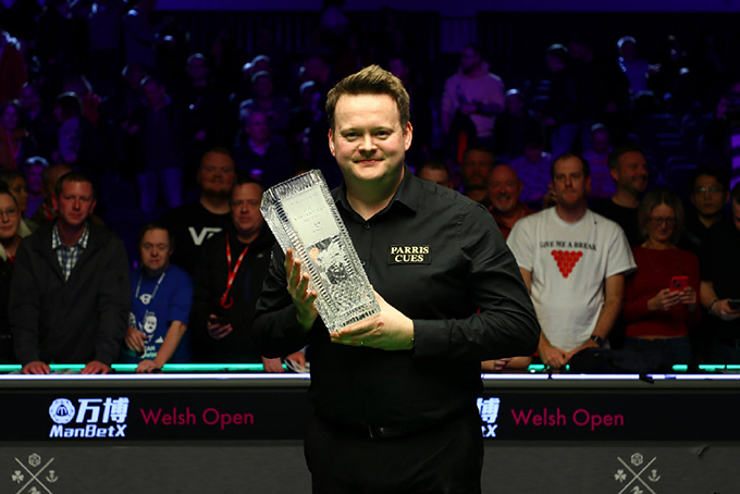 墨菲9-1大胜夺第九冠 威尔士赛为疫情捐7.7万英镑