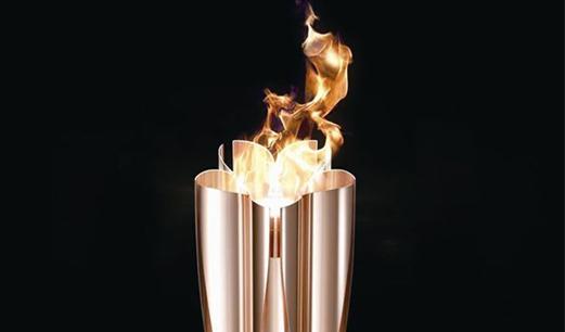 东京奥运会圣火抵达日本 3月26日将开始火炬接力传递