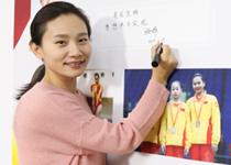 张楠参与录制《中国奥运