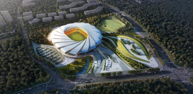 重庆首座专业足球场6月正式动工可容纳6万人_华奥星空