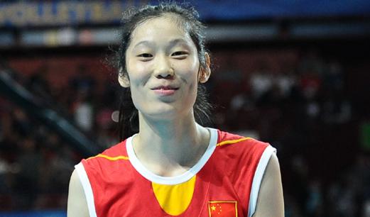 朱婷当选20年来欧冠非欧洲最佳女排球员