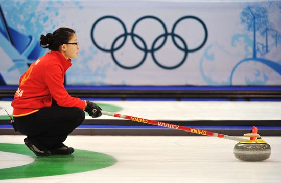 中国冰壶裁判将首次执裁