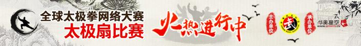 全球太极拳网络大赛太极扇比赛