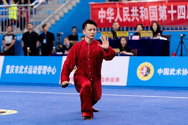 全运会武术套路资格赛 太极拳太极剑全能杨顺洪折桂