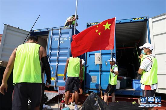 中国帆船帆板队在比赛地熟悉环境-中国奥委会官方网站2020东京奥运会专题